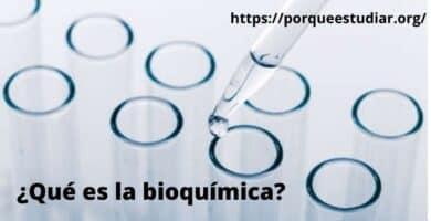 Porqué estudiar Bioquímica
