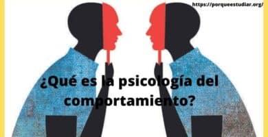 psicología del comportamiento